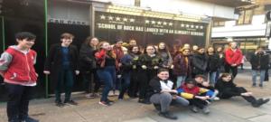 School of Rock – London Visit